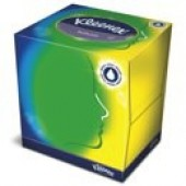 Kleenex Balsam Facial Tissues 3 ply white pack 12