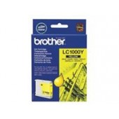 Brother Inkjet Cart Yellow LC1000Y