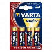Varta Max Tech Battery Aa Mn1500 Pk4