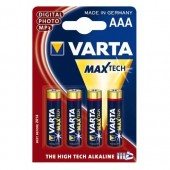 Varta Max Tech Battery Aaa Mn2400 Pk4