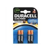 Duracell Ultra Power Battery AAA Mx2400 Pk4