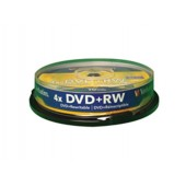 Dvd+Rw 4.7Gb 4X Pack 10 spindle