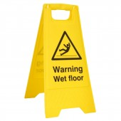 Warning Wet Floor - A Board (10 Signs)