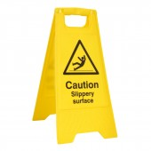 Slippery Surface - A Board (10 Signs)