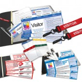 Personalised School Visitor Pass, Absence Record and Incident Record Starter Pack