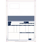 Lasermailer Payslip for use with QuickBooks software x1000