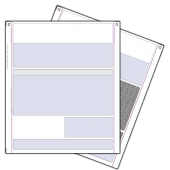 Pegasus 4 Part Invoice/Delivery Note (Coloured Paper) for Continuous Printers