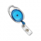 Premier Badge Reel with Retractable Cord (Royal Blue)