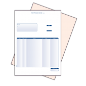 Sage Compatible 2 Part Remittance Advice (Collated) For Laser and Inkjet Printers