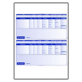 Oxford Software Addressable Payslip 2 Per Page for Laser and Inkjet Printers