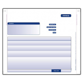 Oxford Software 2 Part Invoice for Continuous Printers