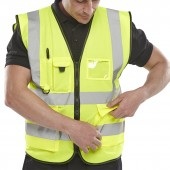 Executive Hi-Vis Vest (10 Pack)