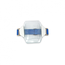 Arm Badge ID Holder Portrait (Royal Blue)