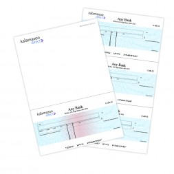 Secure Printed Cheques