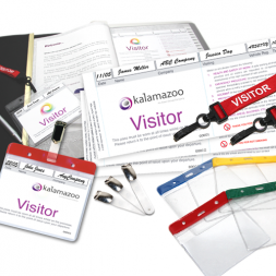 Personalised Visitor Pass Starter Pack