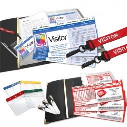 Personalised School Visitor Pass and Incident Record Starter Pack