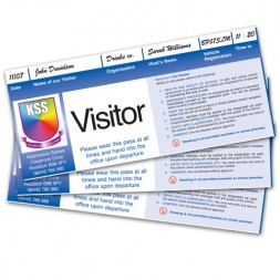 Personalised School Visitor Passes