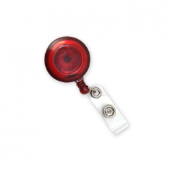 Jazz Badge Reel with Strap Fitting (Red)