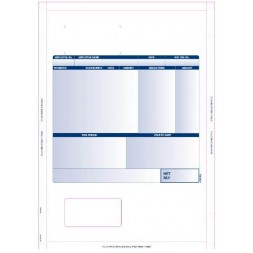 Sage Compatible Mailable Payslip for Laser Printers