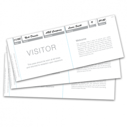 Visitor Pass System (Refills)