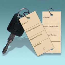 Car Key Tags