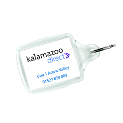 Personalised Promotional Keyring